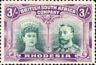 [King George V, 1865-1936 & Queen Marie, 1867-1953, type O21]