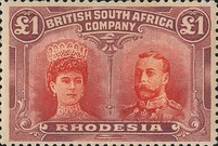 [King George V, 1865-1936 & Queen Marie, 1867-1953, type O26]