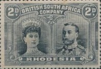 [King George V, 1865-1936 & Queen Marie, 1867-1953, type O4]