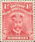 [King George V, 1865-1936, type P1]