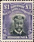 [King George V, 1865-1936, type P20]