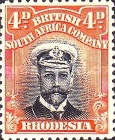 [King George V, 1865-1936, type P7]