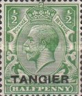 [King George V - Great Britain Postage Stamps Overprinted