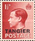 [King Edward VIII - Great Britain Postage Stamps Overprinted