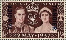 [Coronation of King George V - Great Britain Postage Stamp Overprinted