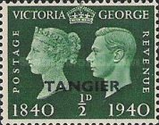 [Queen Victoria and king George VI - The 100th Anniversary of the First Postage Stamp, Typ G]