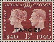 [Queen Victoria and king George VI - The 100th Anniversary of the First Postage Stamp, Typ G2]