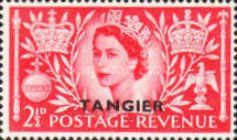 [Coronation of Queen Elizabeth II - Great Britain Postage Stamps Overprinted