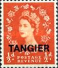 [Queen Elizabeth II - Great Britain Postage Stamps Overprinted