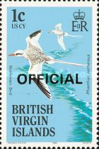 [Birds - Postage Stamps Overprinted