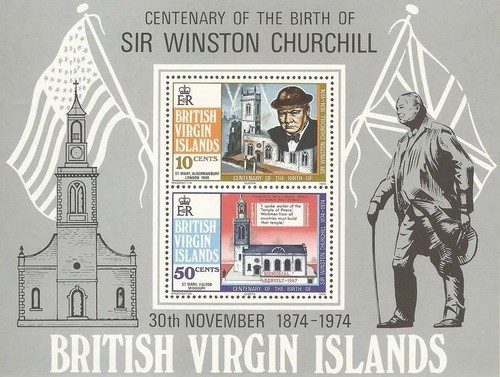 [The 100th Anniversary of the Birth of Winston Spencer Churchill, 1874-1965, type ]