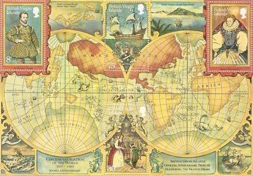 [The 400th Anniversary of Sir Francis Drake's Circumnavigation of the World, type ]