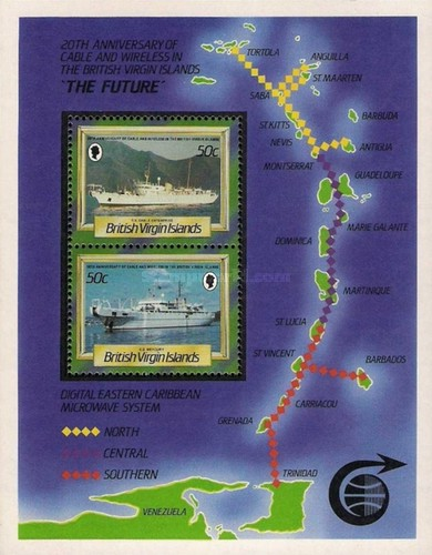[The 20th Anniversary of the Cable and Wireless in British Virgin Islands, type ]