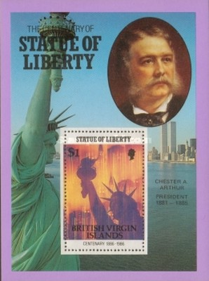[The 100th Anniversary of the Statue of Liberty, New York, type ]