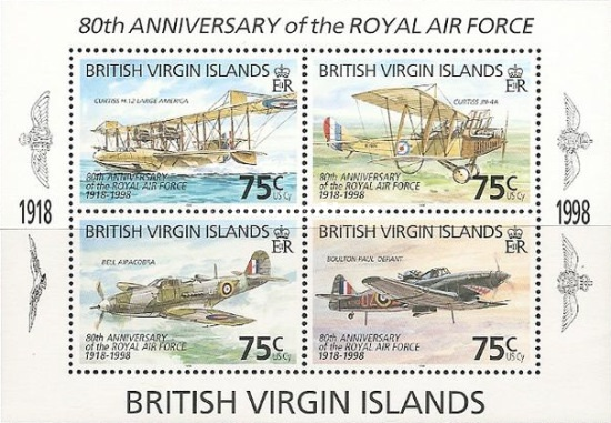 [The 80th Anniversary of the Royal Air Force - Aircrafts, тип ]