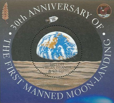 [The 30th Anniversary of the First Manned Moon Landing, type ]