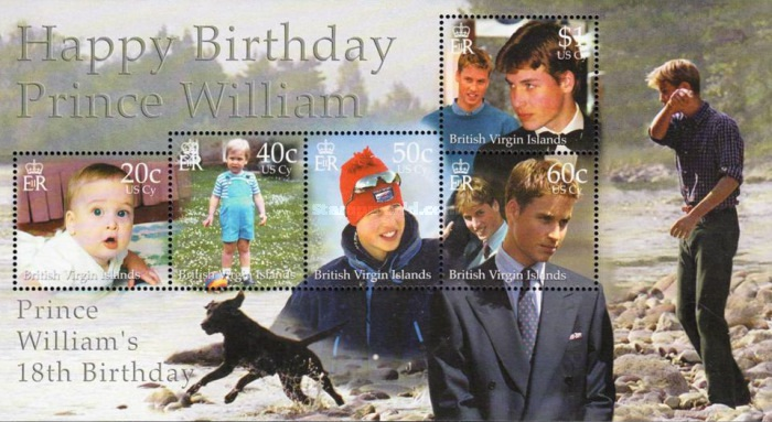 [The 18th Anniversary of the Birth of Prince William of England, type ]