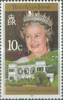 [The 70th Anniversary of the Birth of Queen Elizabeth II, type ABI]