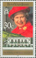 [The 70th Anniversary of the Birth of Queen Elizabeth II, type ABJ]