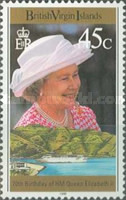 [The 70th Anniversary of the Birth of Queen Elizabeth II, type ABK]