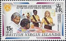[The 60th Anniversary of Scouting in the British Virgin Islands, type ACB]