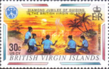 [The 60th Anniversary of Scouting in the British Virgin Islands, type ACC]