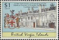 [Anniversaries and Events - The 30th Anniversary of Comprehensive Education in British Virgin Islands, The 50th Anniversary of University of the West Indies, The 225th Anniversary of Medical Society of London, тип AFC]