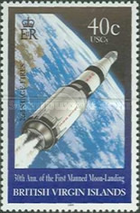 [The 30th Anniversary of the First Manned Moon Landing, type AFO]