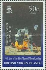 [The 30th Anniversary of the First Manned Moon Landing, type AFP]