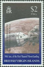 [The 30th Anniversary of the First Manned Moon Landing, type AFQ]