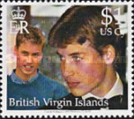 [The 18th Anniversary of the Birth of Prince William of England, type AGL]