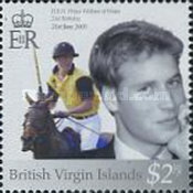 [The 21st Anniversary of the Birth of Prince William, type AJQ1]