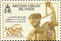 [The 800th Anniversary of the Magna Carta, type APN]