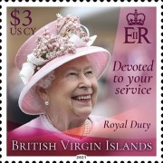 [Devoted to Your Service - The 95th Anniversary of the Birth of Queen Elizabeth II, type ARL]