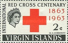 [The 100th Anniversary of the International Red Cross, type BM]