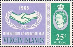[The 20th Anniversary of the Universal Postal Union: International Cooperation Year, type CG]