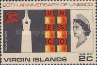 [The 20th Anniversary of the UNESCO, type CO]