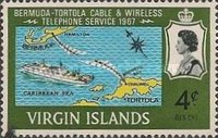 [Bermuda-Tortola Cable Wireless Telephone Service, type CS]
