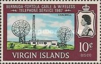 [Bermuda-Tortola Cable Wireless Telephone Service, type CT]