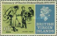 [The 100th Anniversary of the Death of Charles Dickens, 1812-1870, type EF]