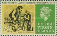 [The 100th Anniversary of the Death of Charles Dickens, 1812-1870, type EG]