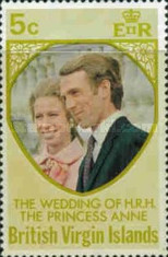 [Royal Wedding of Princess Anne to Mark Phillips, type FL]