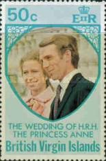 [Royal Wedding of Princess Anne to Mark Phillips, type FL1]