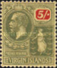 [King George V & St. Ursula - Different Watermark, type K10]