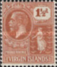 [King George V & St. Ursula - NEw Values and Colours, type K14]