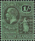 [King George V & St. Ursula - NEw Values and Colours, type K16]