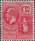 [King George V & St. Ursula - Different Watermark, type K5]