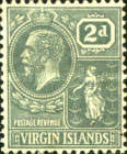 [King George V & St. Ursula - Different Watermark, type K6]