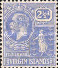 [King George V & St. Ursula - Different Watermark, type K7]