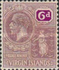 [King George V & St. Ursula - Different Watermark, type K9]